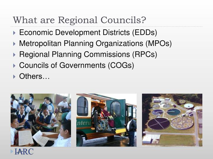What are Regional Councils?