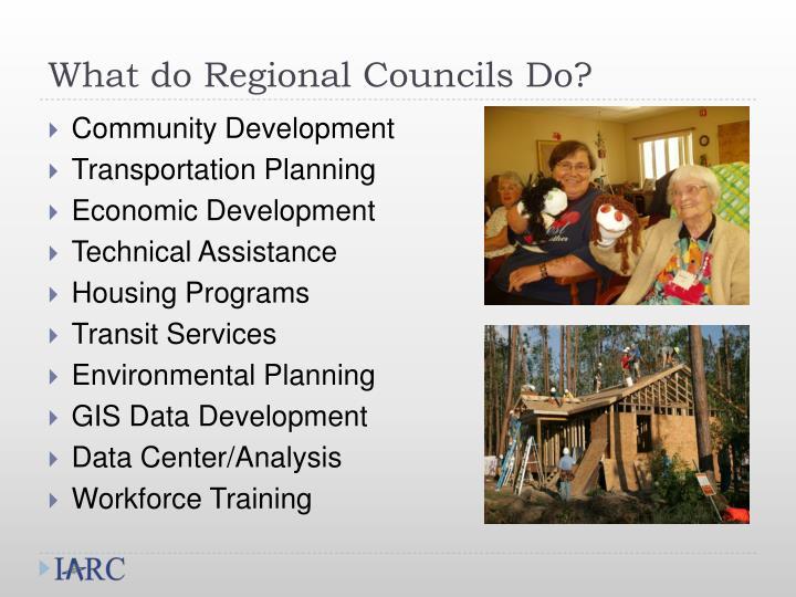 What do Regional Councils Do?