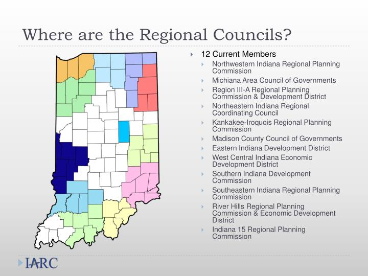 Where are the Regional Councils?