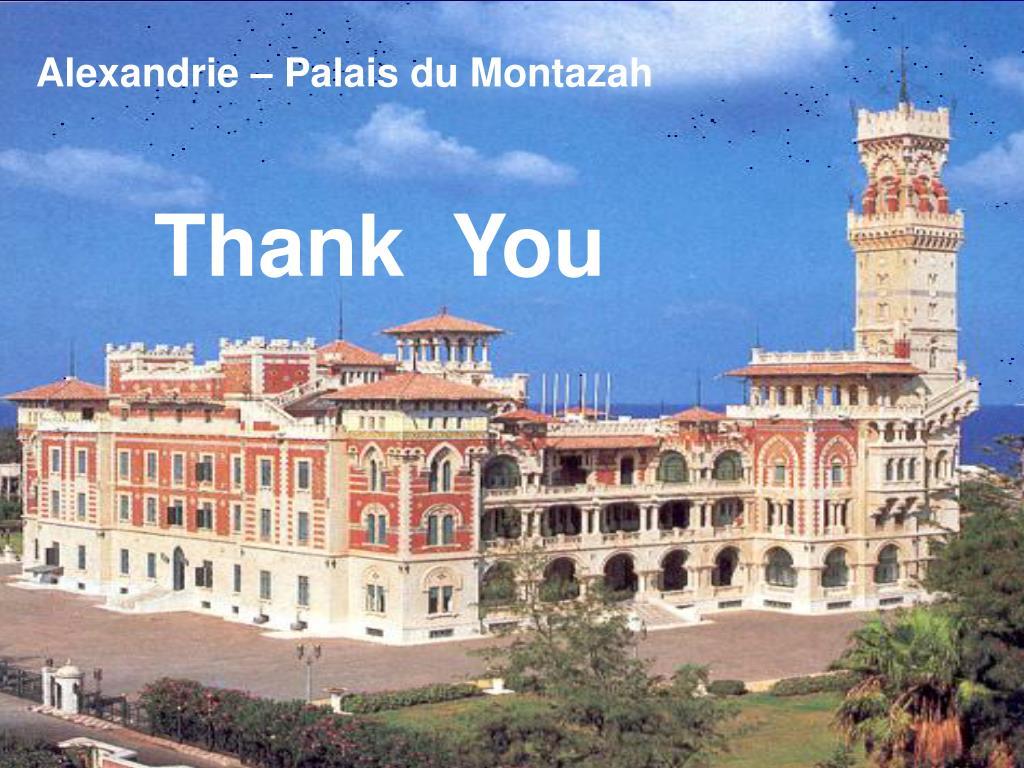 Alexandrie – Palais du Montazah