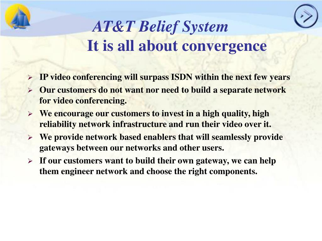 AT&T Belief System