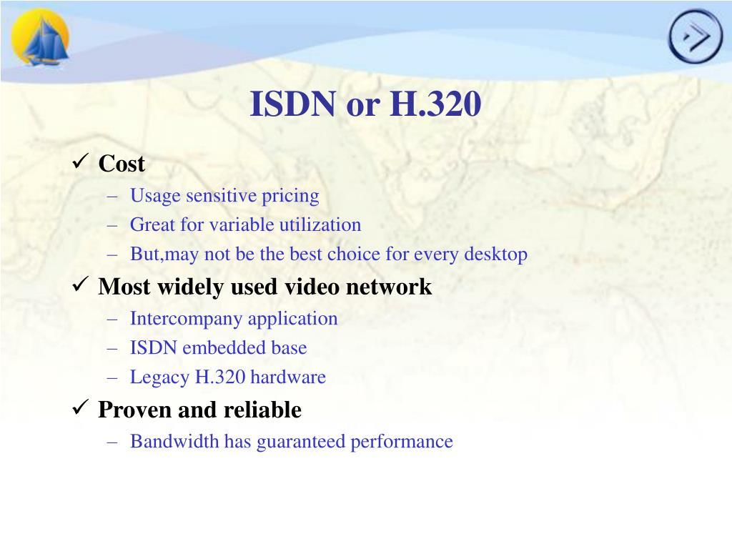 ISDN or H.320