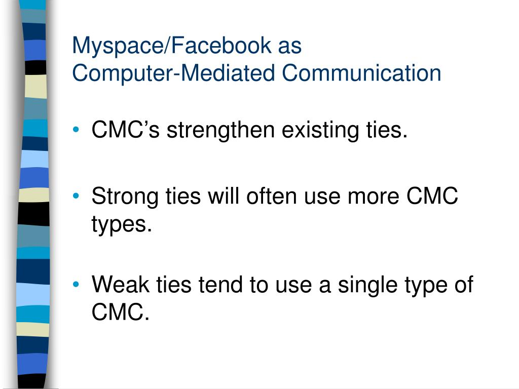 Myspace/Facebook as