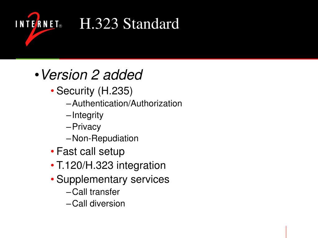 H.323 Standard