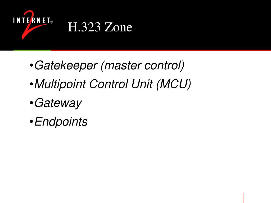 H.323 Zone