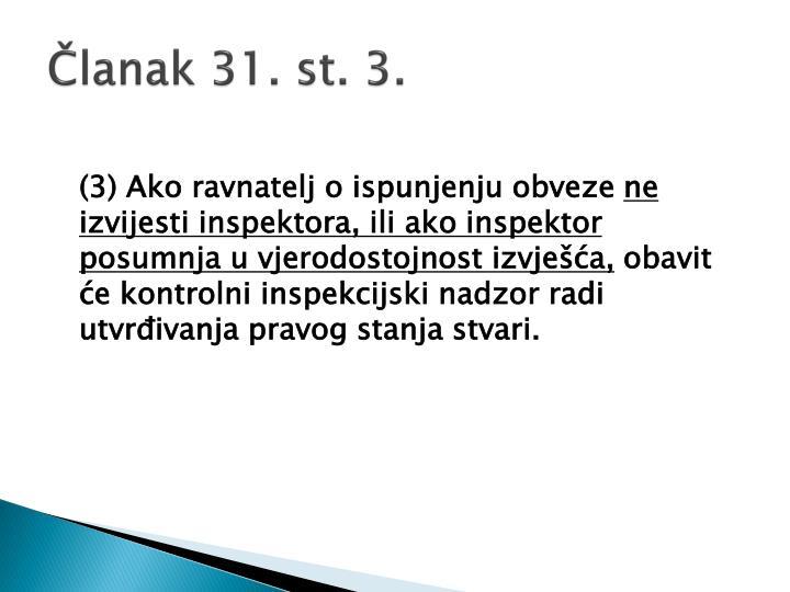 Članak 31. st. 3.