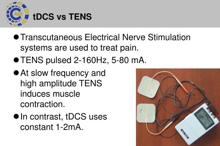tDCS vs TENS