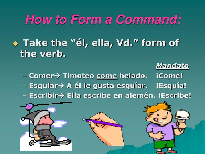 How to Form a Command: