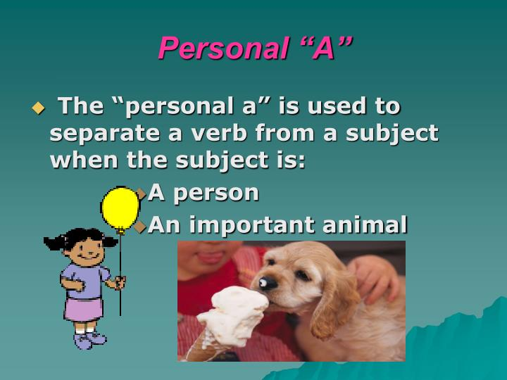 """Personal """"A"""""""