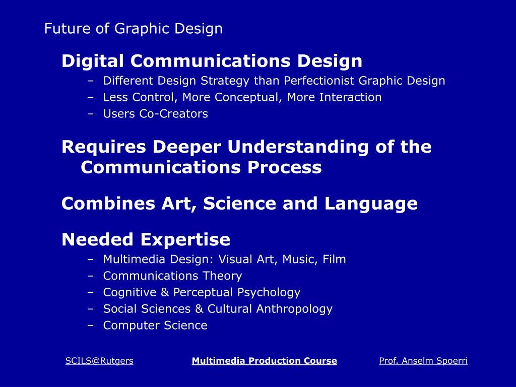 Future of Graphic Design