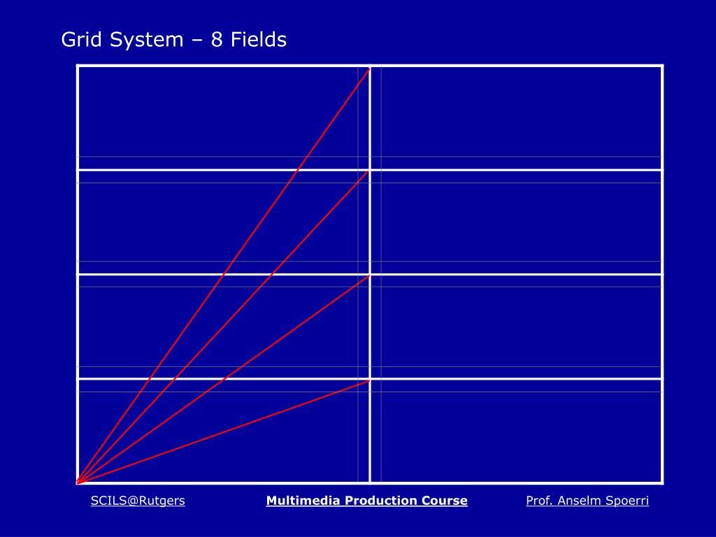 Grid System – 8 Fields