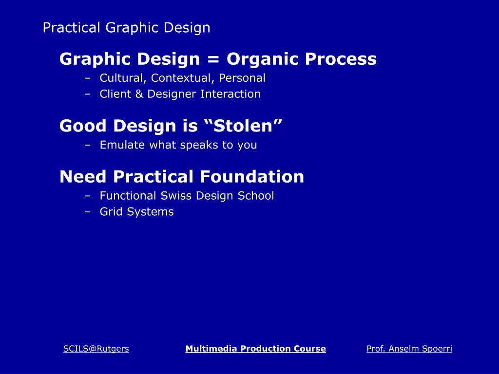 Practical Graphic Design