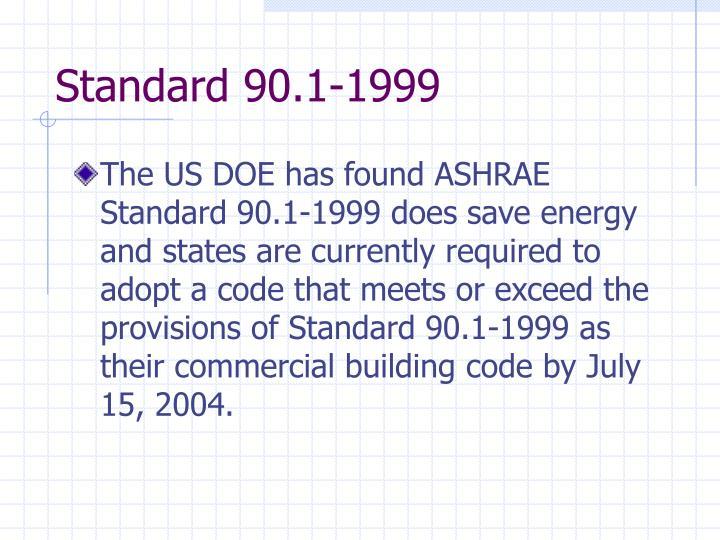 Standard 90.1-1999