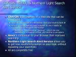crayon alexa northern light search alert service