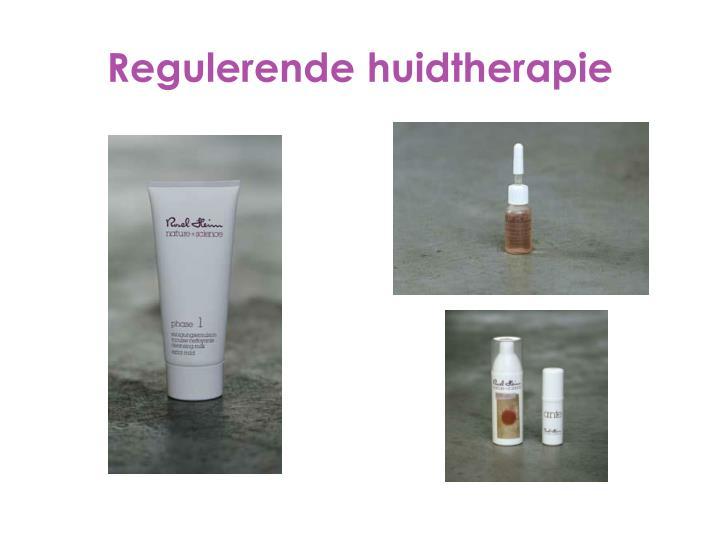Regulerende huidtherapie