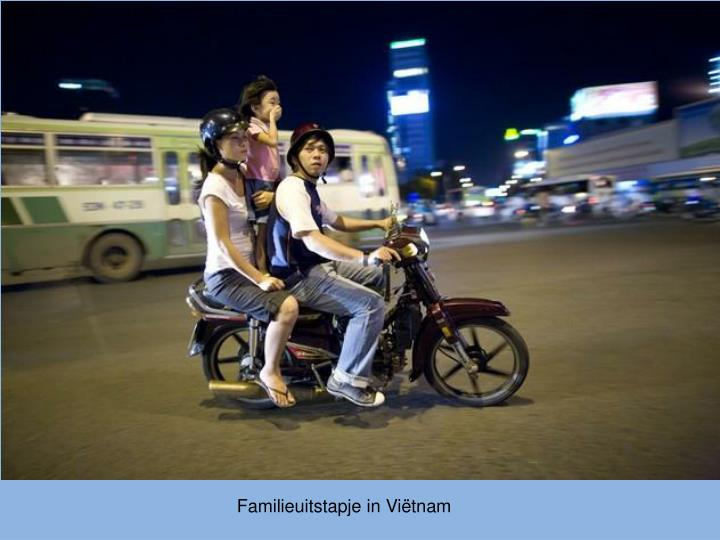 Familieuitstapje in Viëtnam