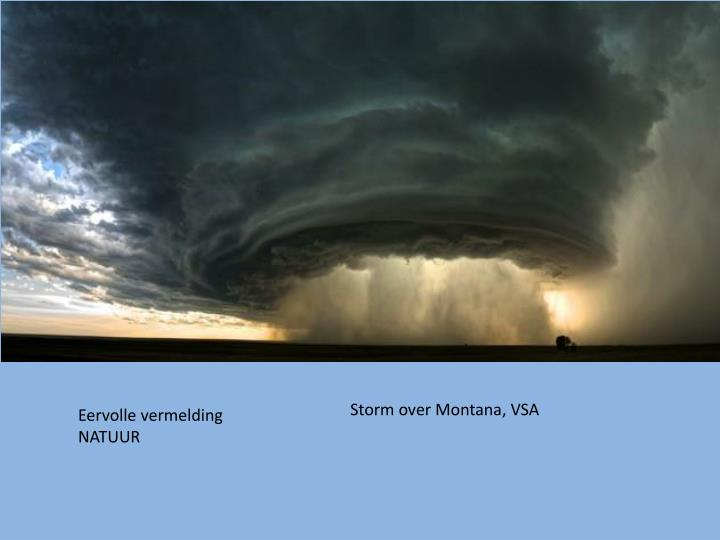 Storm over Montana, VSA