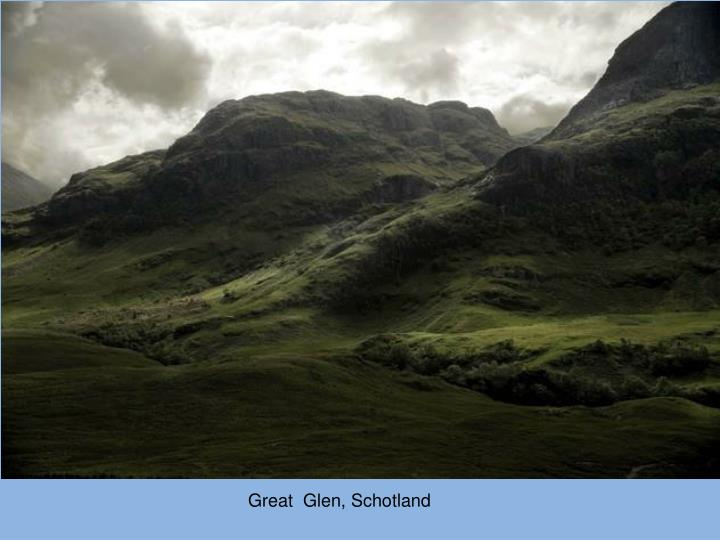 Great  Glen, Schotland