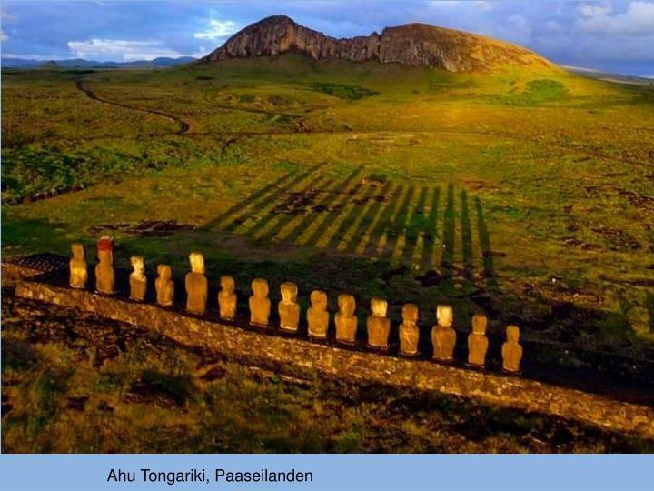Ahu Tongariki, Paaseilanden