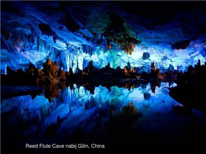 Reed Flute Cave nabij Gilin, China