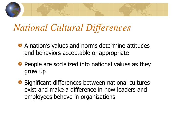 "national differences in cultural and Adler cites researcher andré laurent's finding that cultural differences were ""significantly  microsoft word - organizational vs national culturedoc."