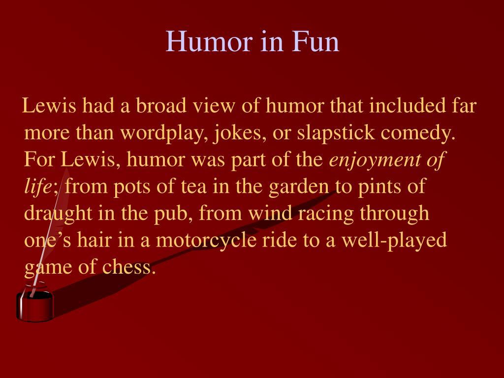 Humor in Fun