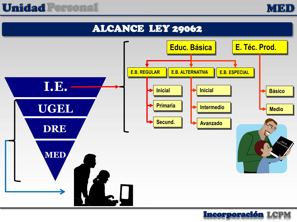 ALCANCE  LEY 29062