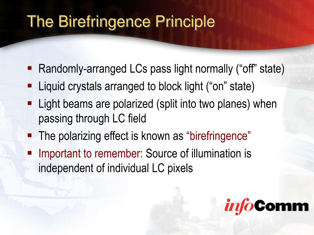 The Birefringence Principle