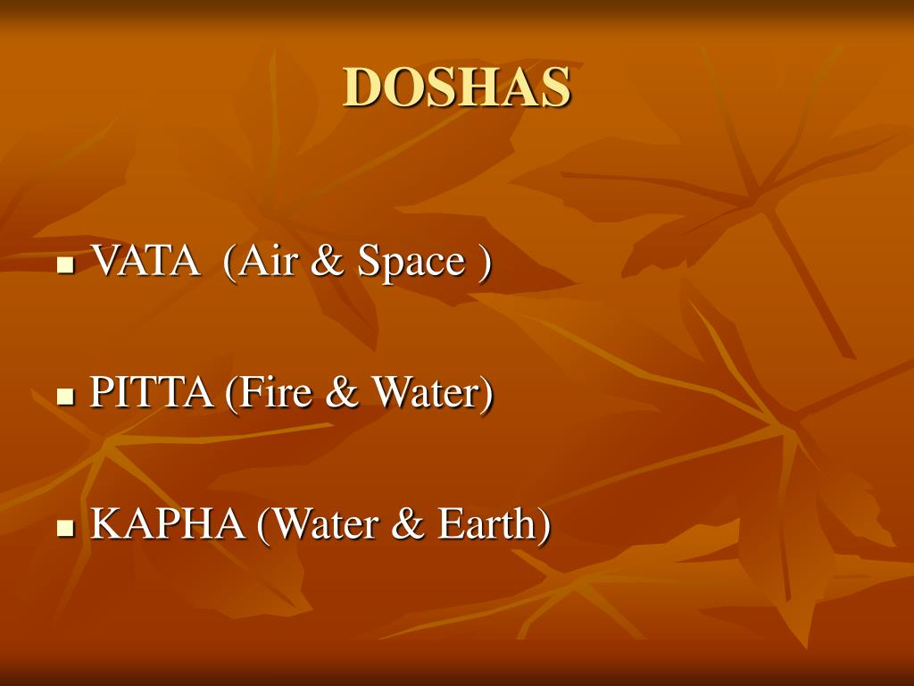 DOSHAS