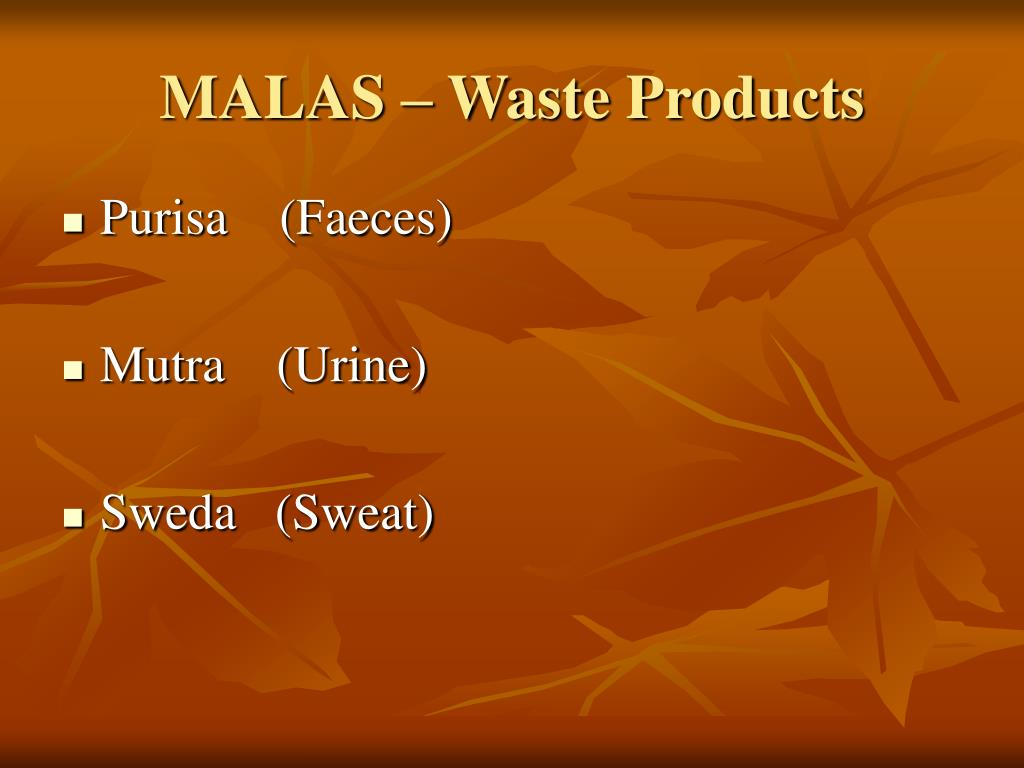 MALAS – Waste Products