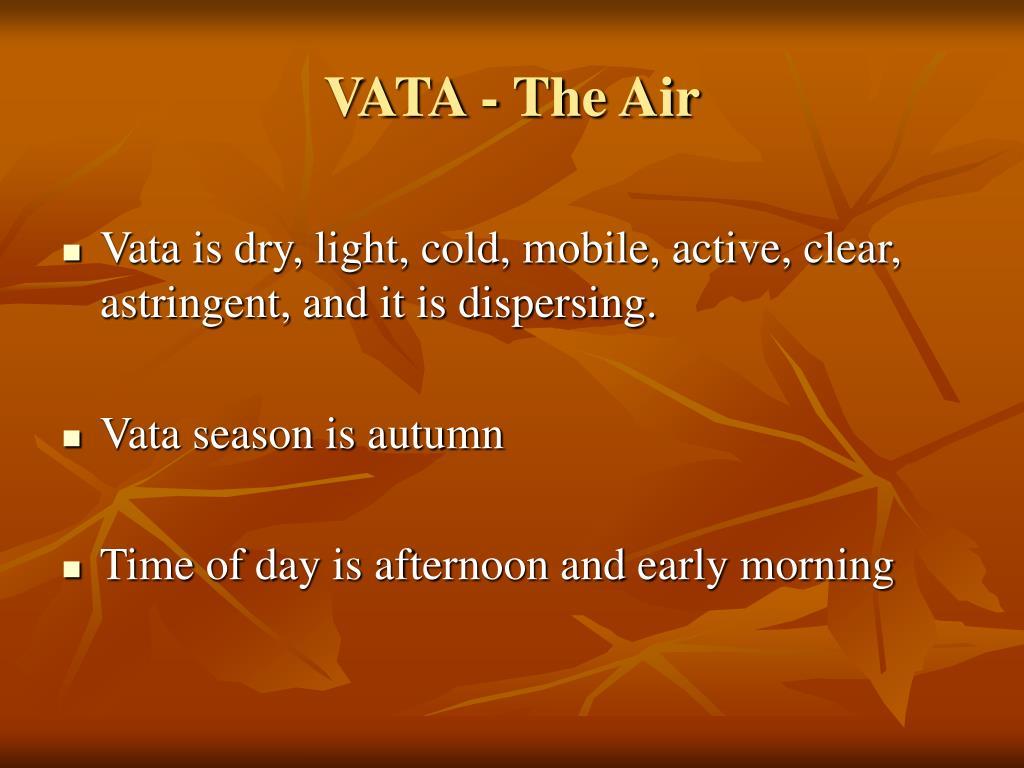 VATA - The Air