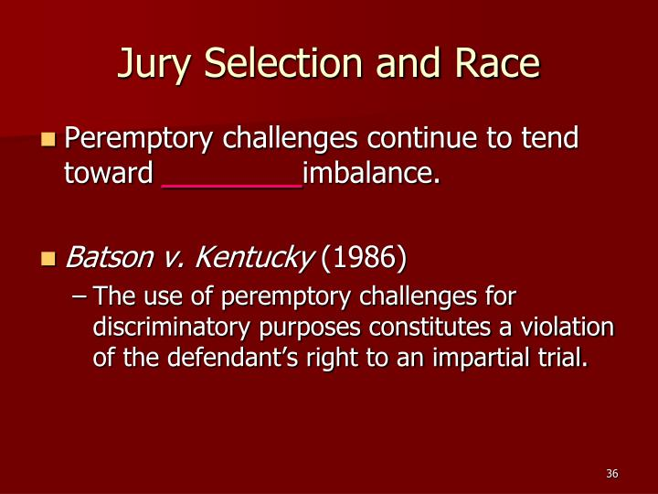 scientific jury selection 2012-4-18 decisions when it comes to jury selection we assist you in assessing  our methodologies are designed to meet the highest scientific stan.