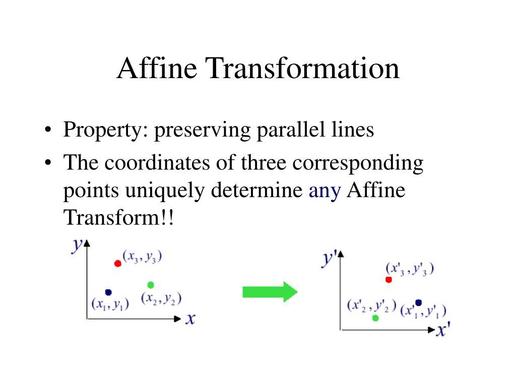 Affine Transformation