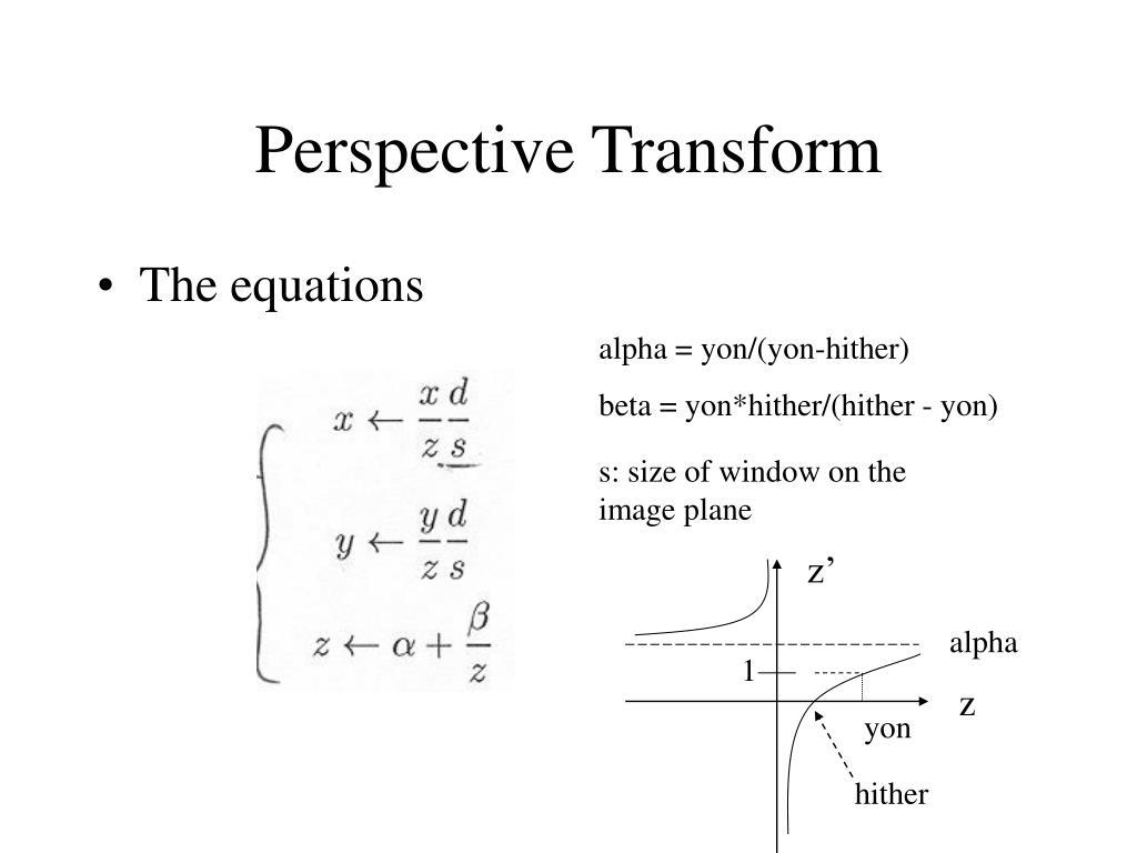 Perspective Transform
