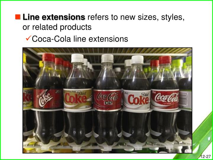 beand extension example of coca cola This is not an example of the work written by our professional essay writers marketing plan for product line extension of coca cola brand equity: coca-cola provides a reputation of the quality, constant.