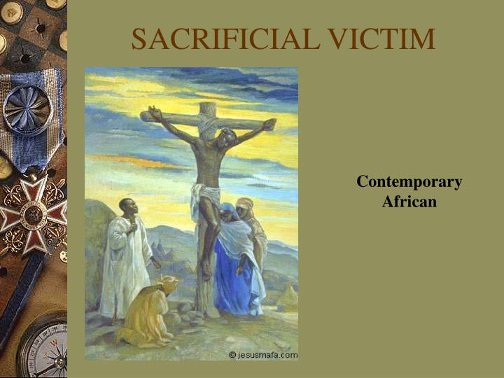 SACRIFICIAL VICTIM