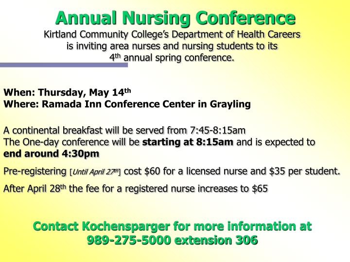 Annual Nursing Conference