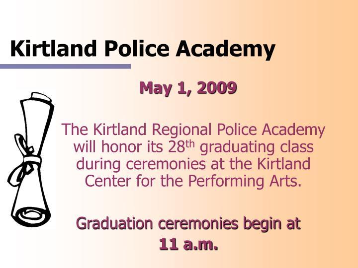 Kirtland Police Academy