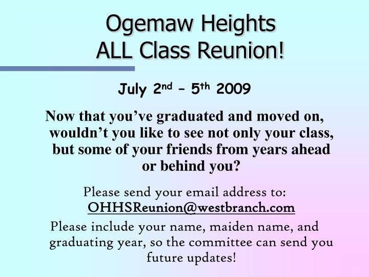 Ogemaw Heights
