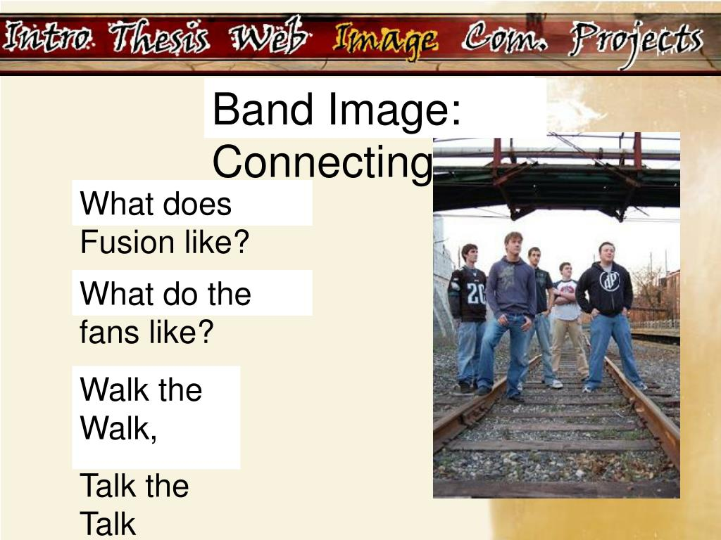 Band Image: Connecting