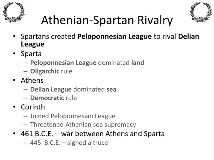 Athenian-Spartan Rivalry