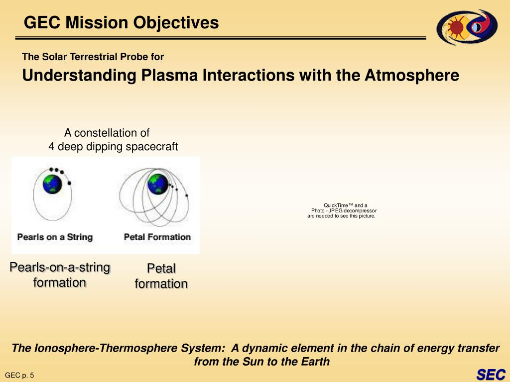 GEC Mission Objectives