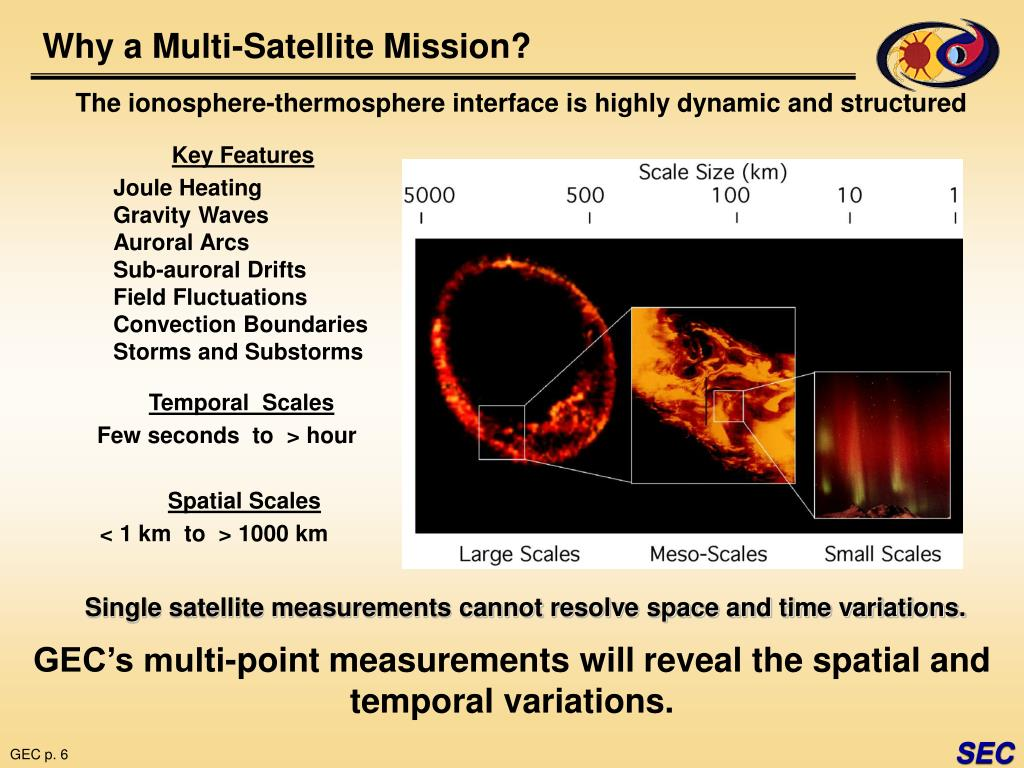 Why a Multi-Satellite Mission?