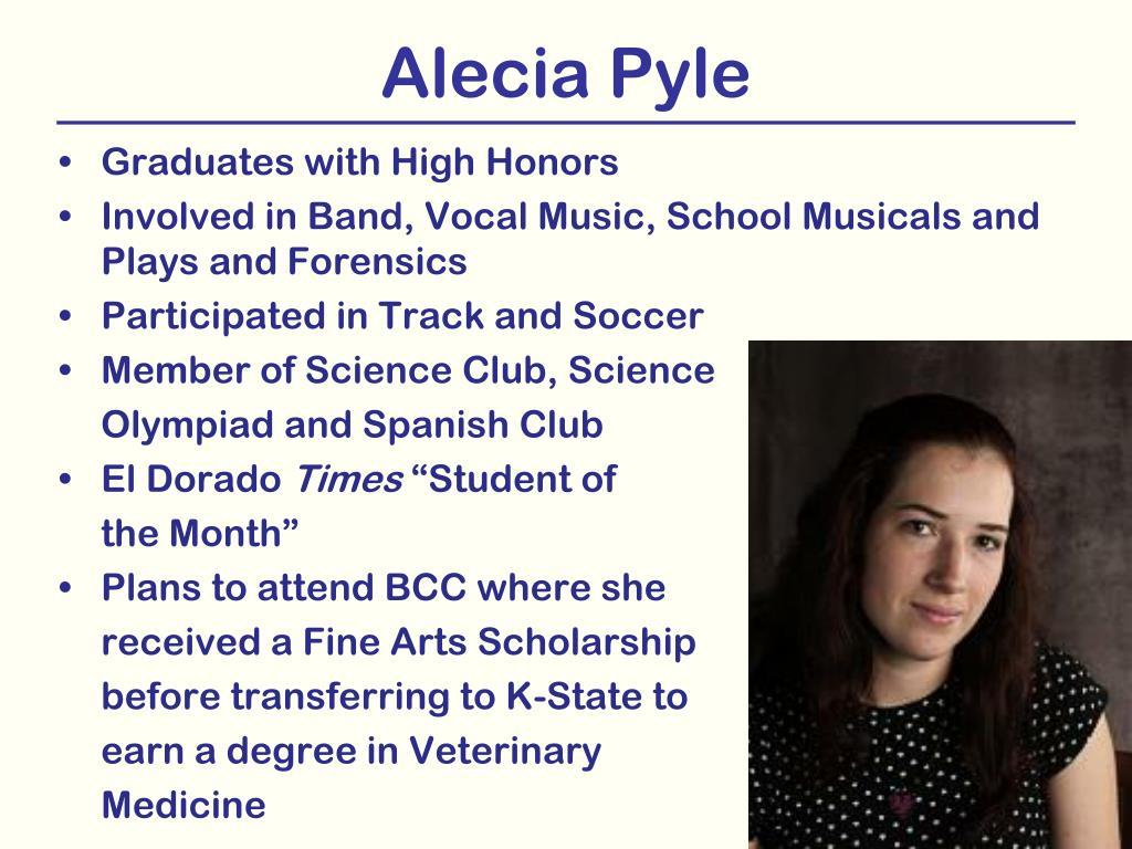 Alecia Pyle