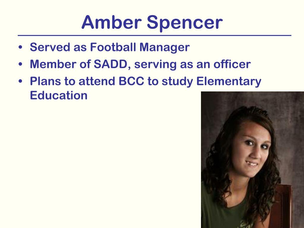 Amber Spencer