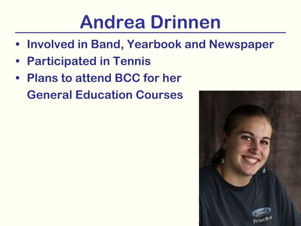 Andrea Drinnen