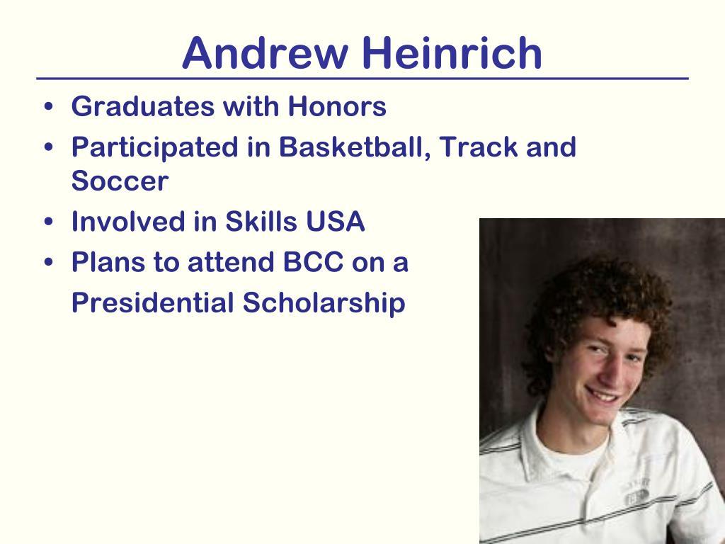 Andrew Heinrich