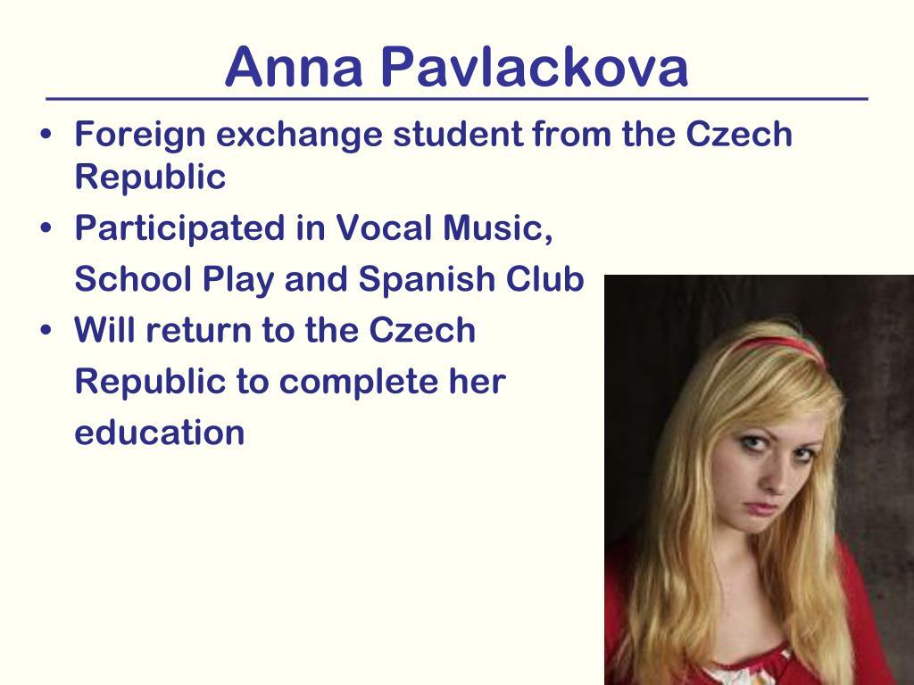 Anna Pavlackova