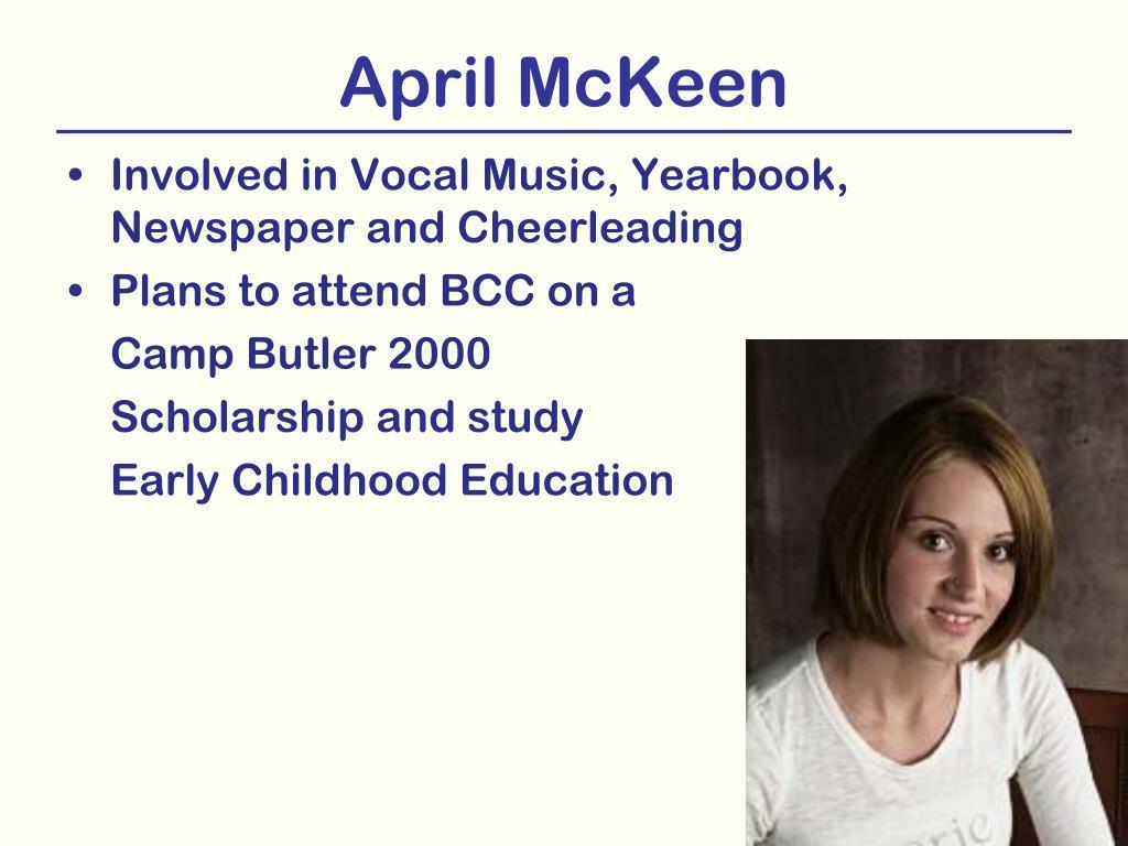 April McKeen