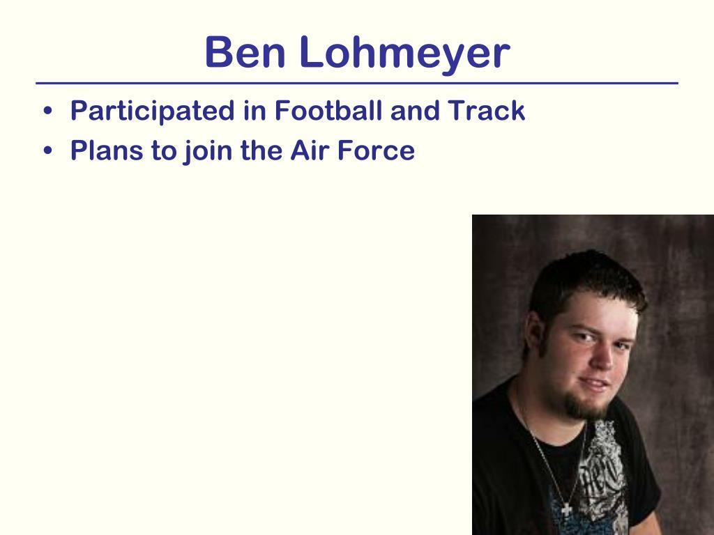 Ben Lohmeyer